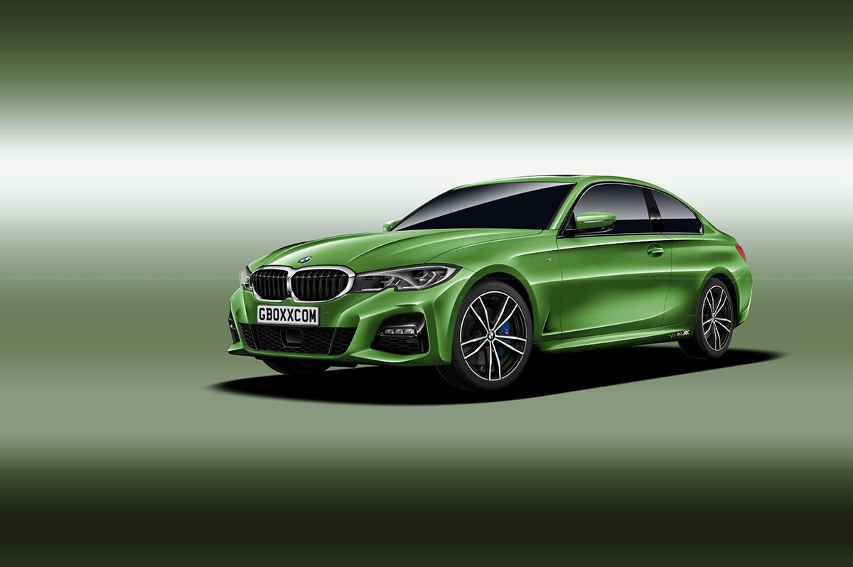 This Rendering Of The 2020 Bmw 4 Series With 3 Series Styling