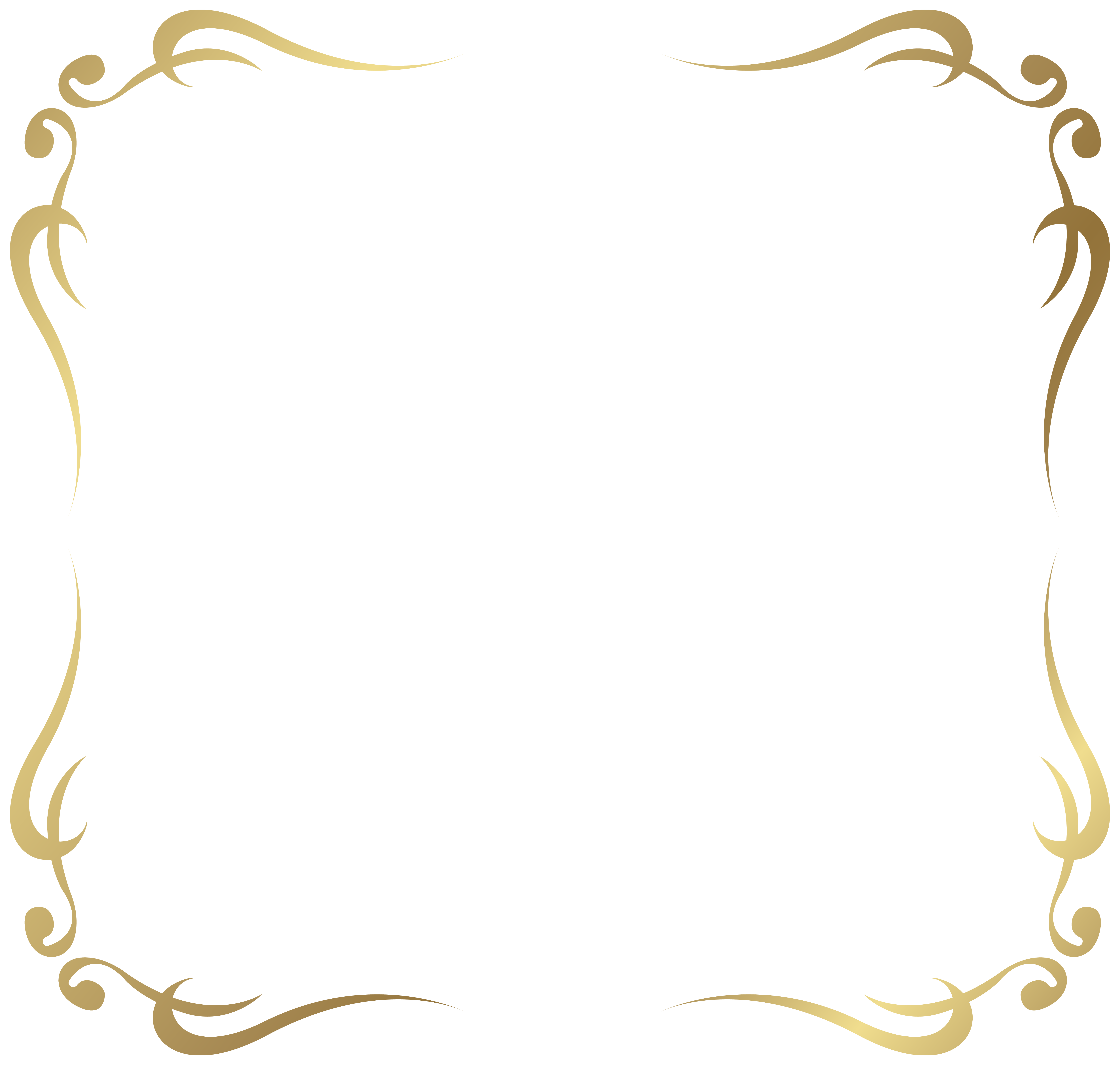 Deco Frame Border Golden Png Elegant Gold Page Borders 5487937 Gold Frame Gold Border Frame