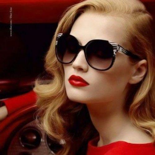 f77ff1839fb Model Wearing Sunglasses