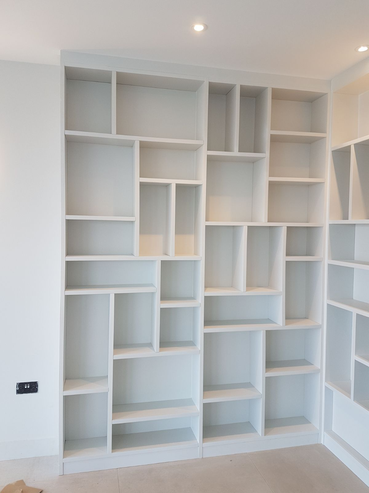 25Mm Thick Chunky Shelving Unit