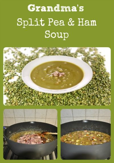 how to make pea soup with ham bone