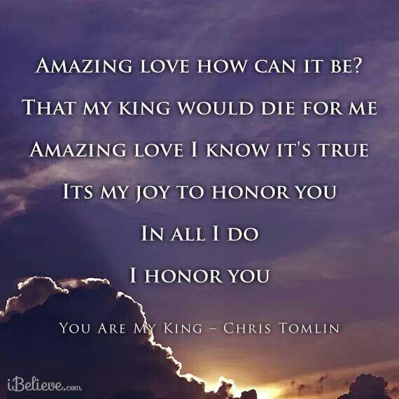 My King Quotes: God, Faith, Gods Love