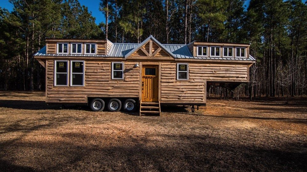 Tiny Home Designs: 24ft Laurel Tiny House On Wheels By Tiny House Building