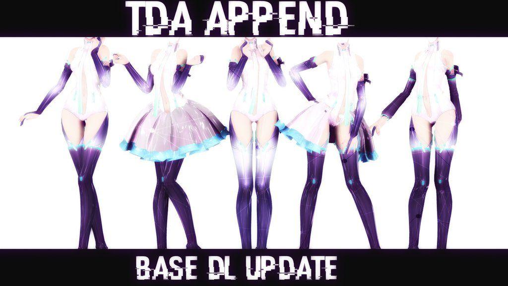 MMD Tda Base Append Dl] UPDATE by HoumraDusk deviantart com
