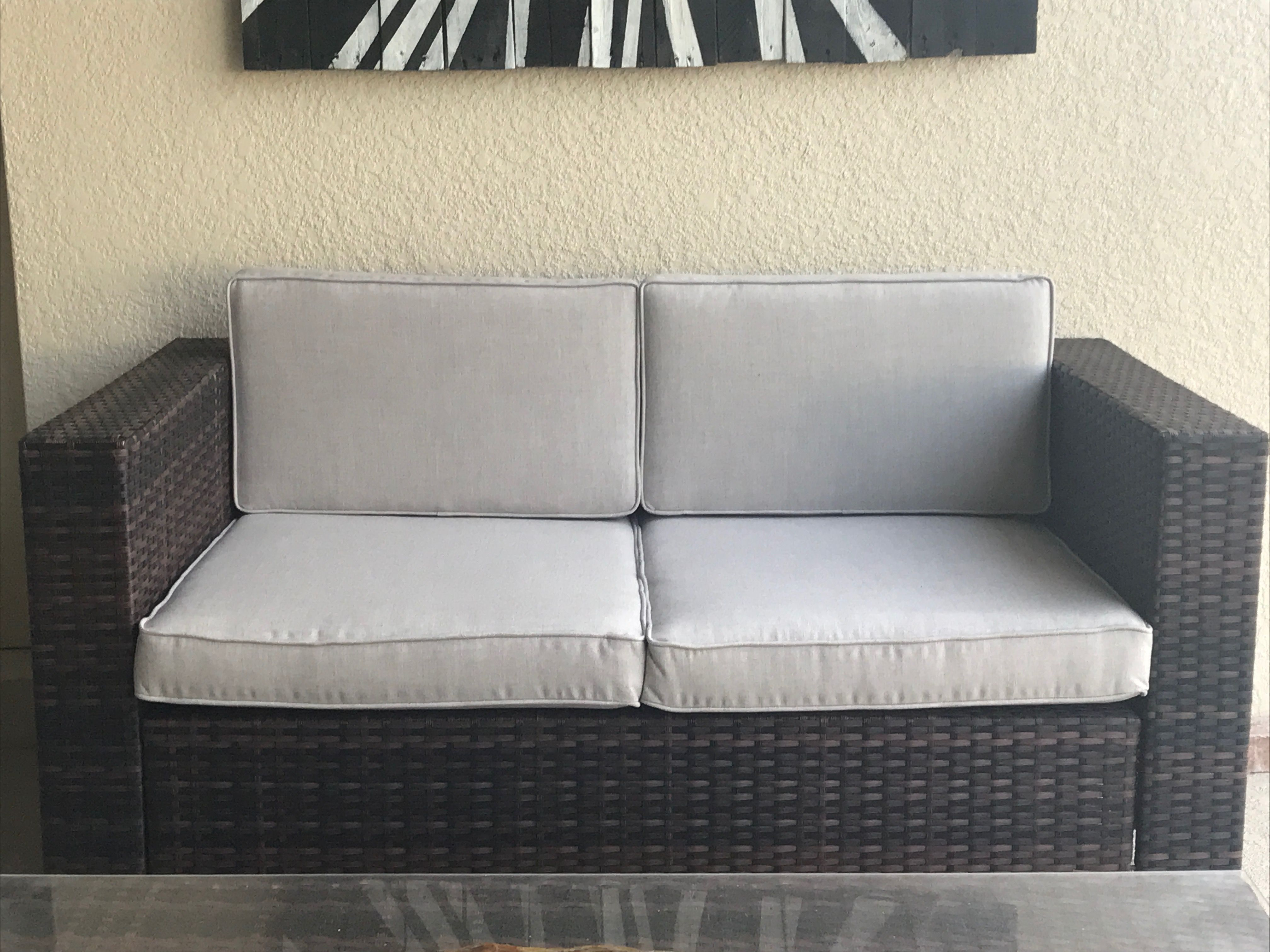 Custom Outdoor Cushions Grey Sofa Cushions Made With