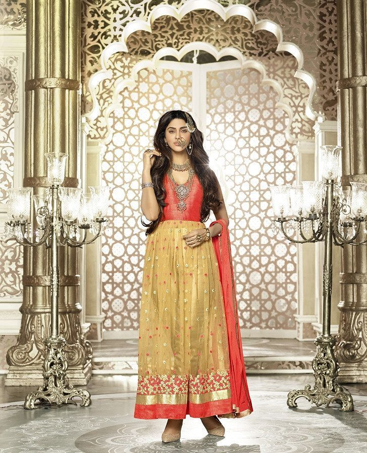 Vibes Mastani Collection Unstitched Beige Colour Lehenga Style Anarkali Designer Dress V359-1211 Product Price :Rs.2999.00 INR Deal Price:Rs.1999.00