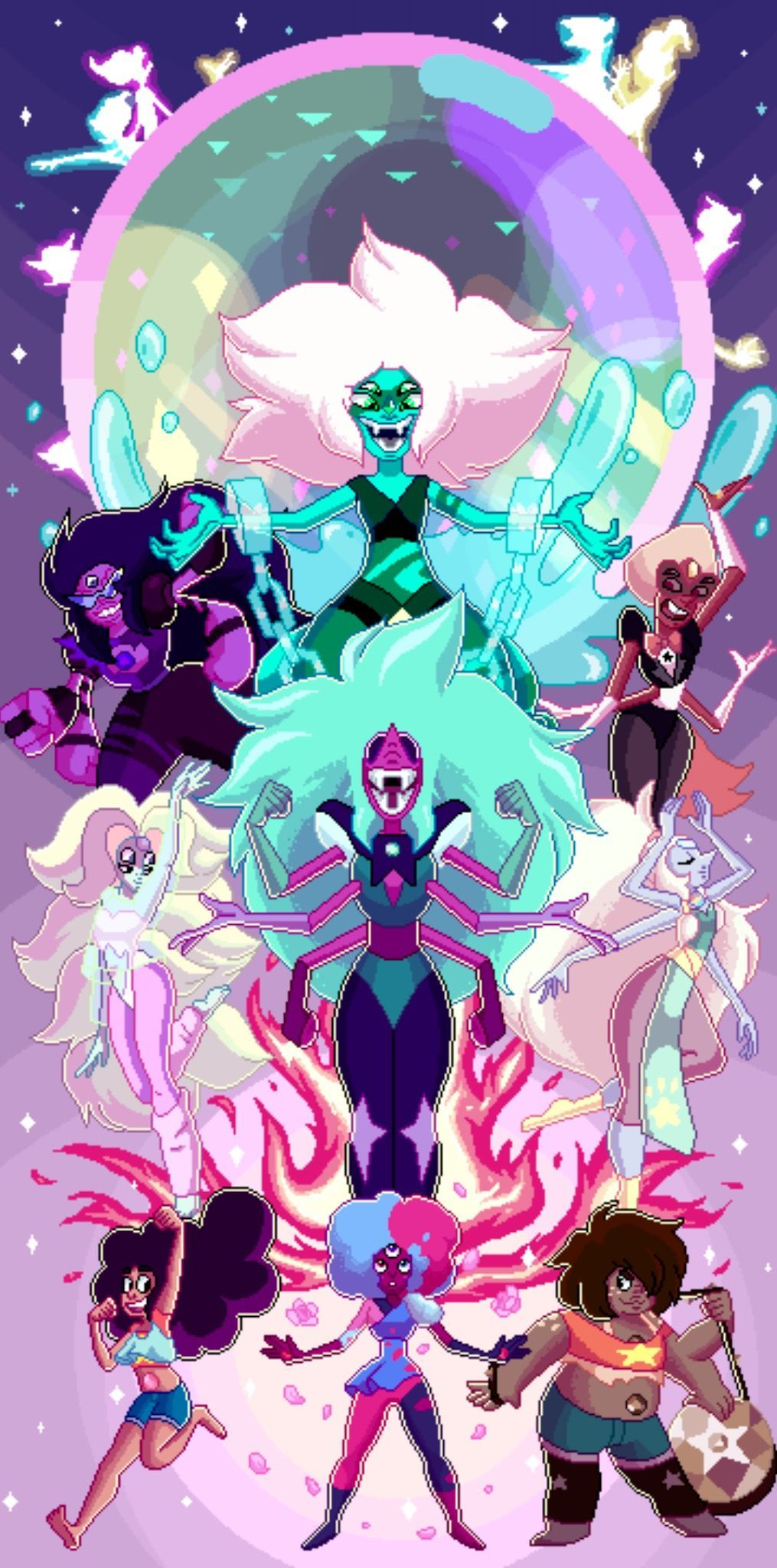Pin By James On Steven Universe Steven Universe Wallpaper Steven Universe Fusion Steven Universe Gem