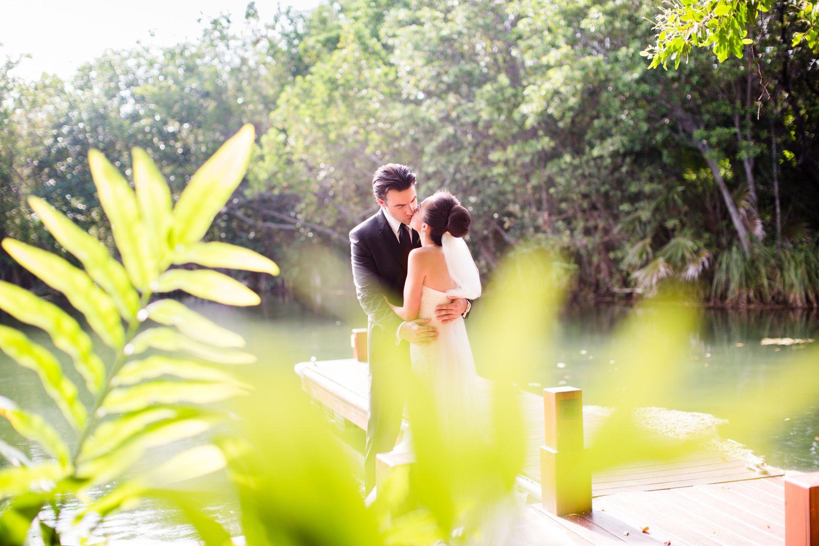 Fairmont Mayakoba Mexico Destination Wedding. Elegant