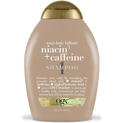 fight fallout niacin & caffeine shampoo | fallout, caffeine and