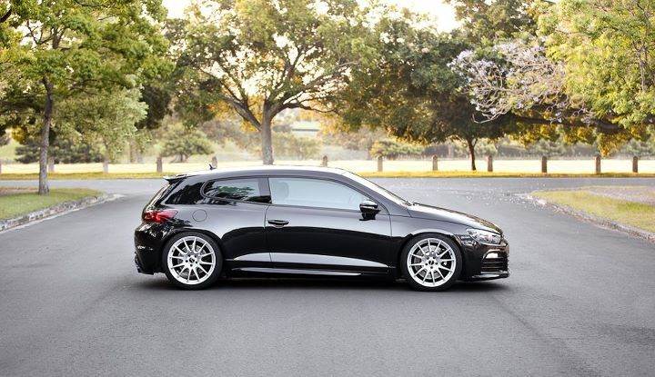 VW Scirocco...black