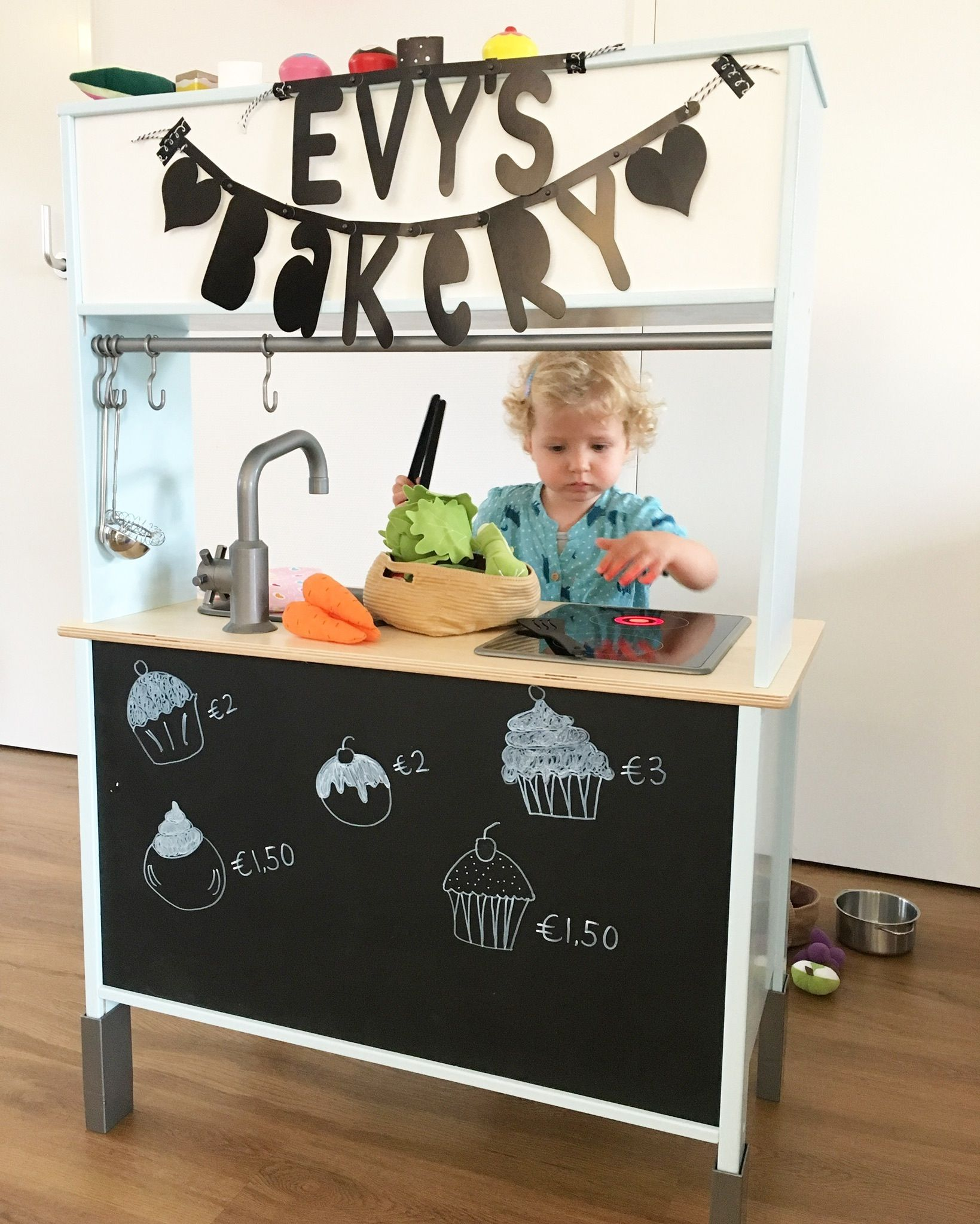 ikea duktig keukentje pimpen ikea duktig children 39 s kitchen hacks make over renovations. Black Bedroom Furniture Sets. Home Design Ideas