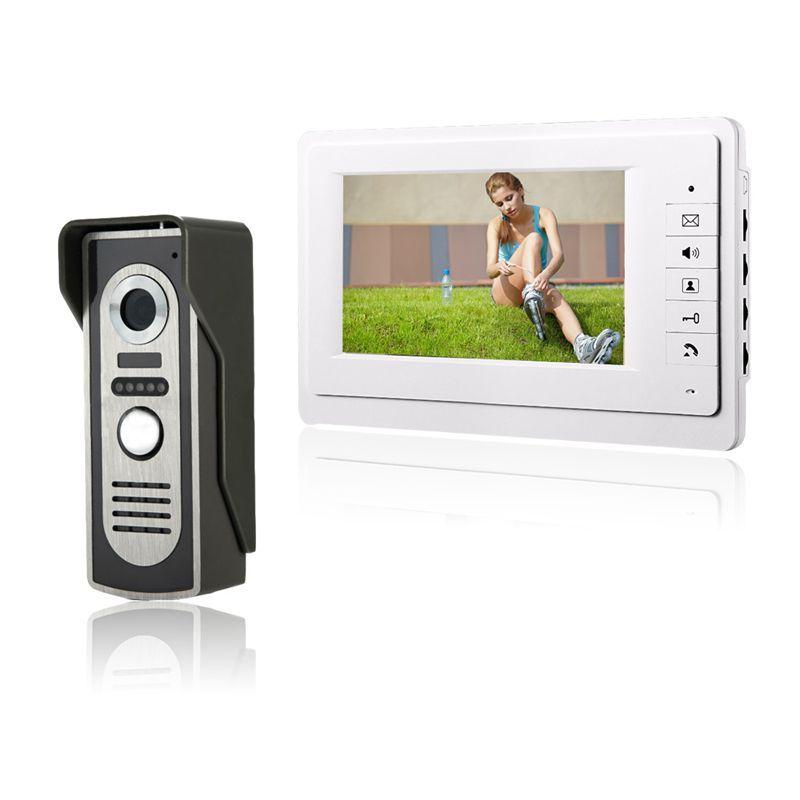 Hd 7 Tft Farb Video Türsprechanlage Intercom Türklingel System Kit