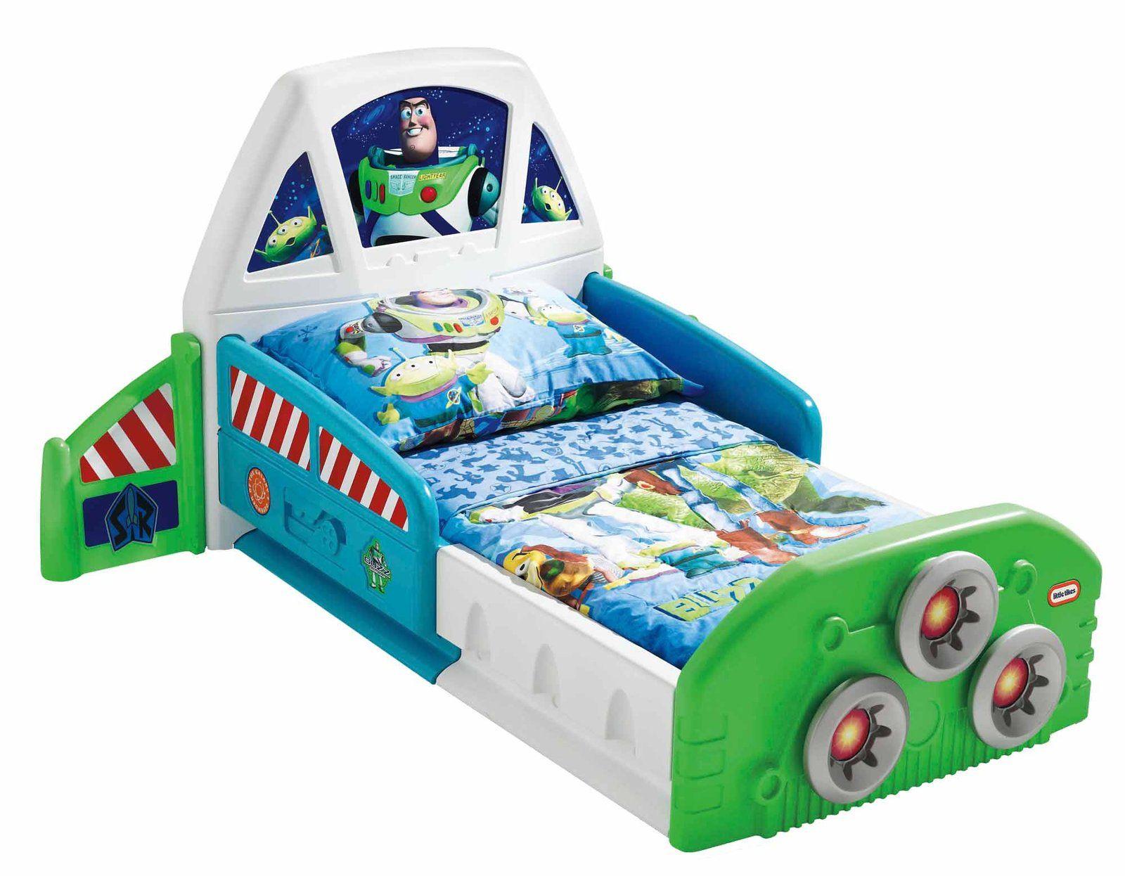 Little Tikes Buzz Lightyear Spaceship Toddler Bed