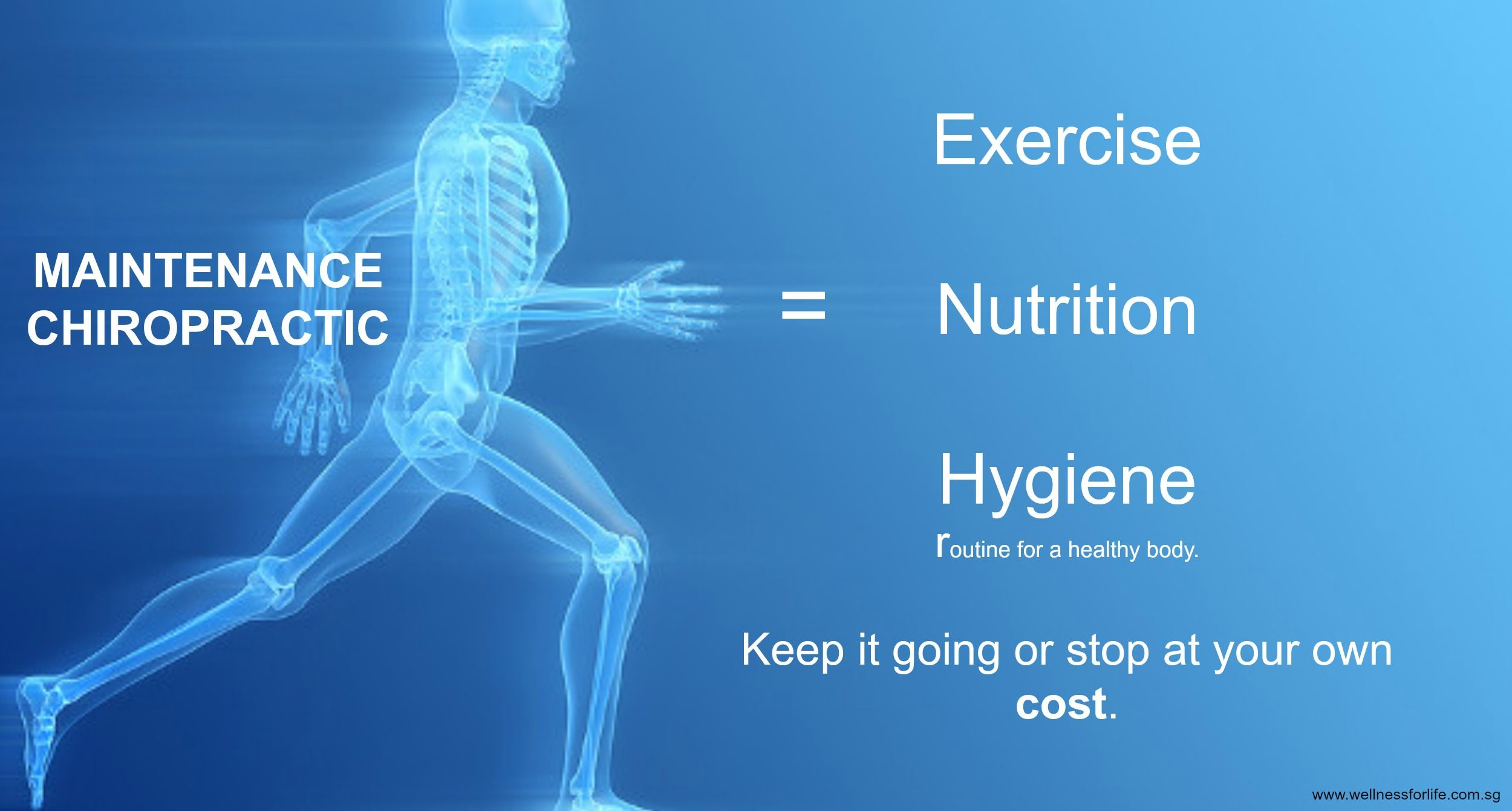 exercise nutrition Xperiencelife Chiropractic care