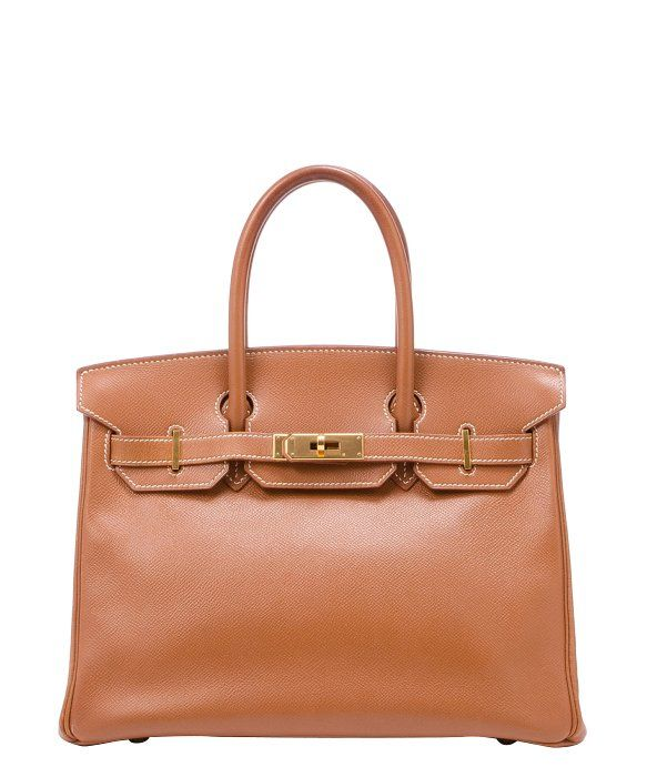 489ed212082 Hermes Pre-Owned  gold courchevel leather  Birkin 30  bag   Pre ...