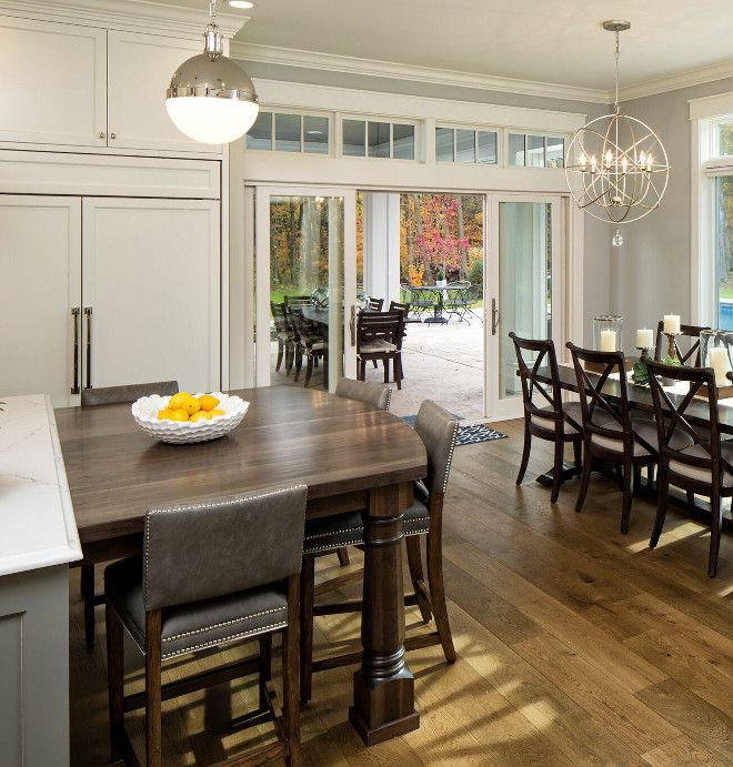 Kitchen Island With Table Attached Beautiful Kitchen