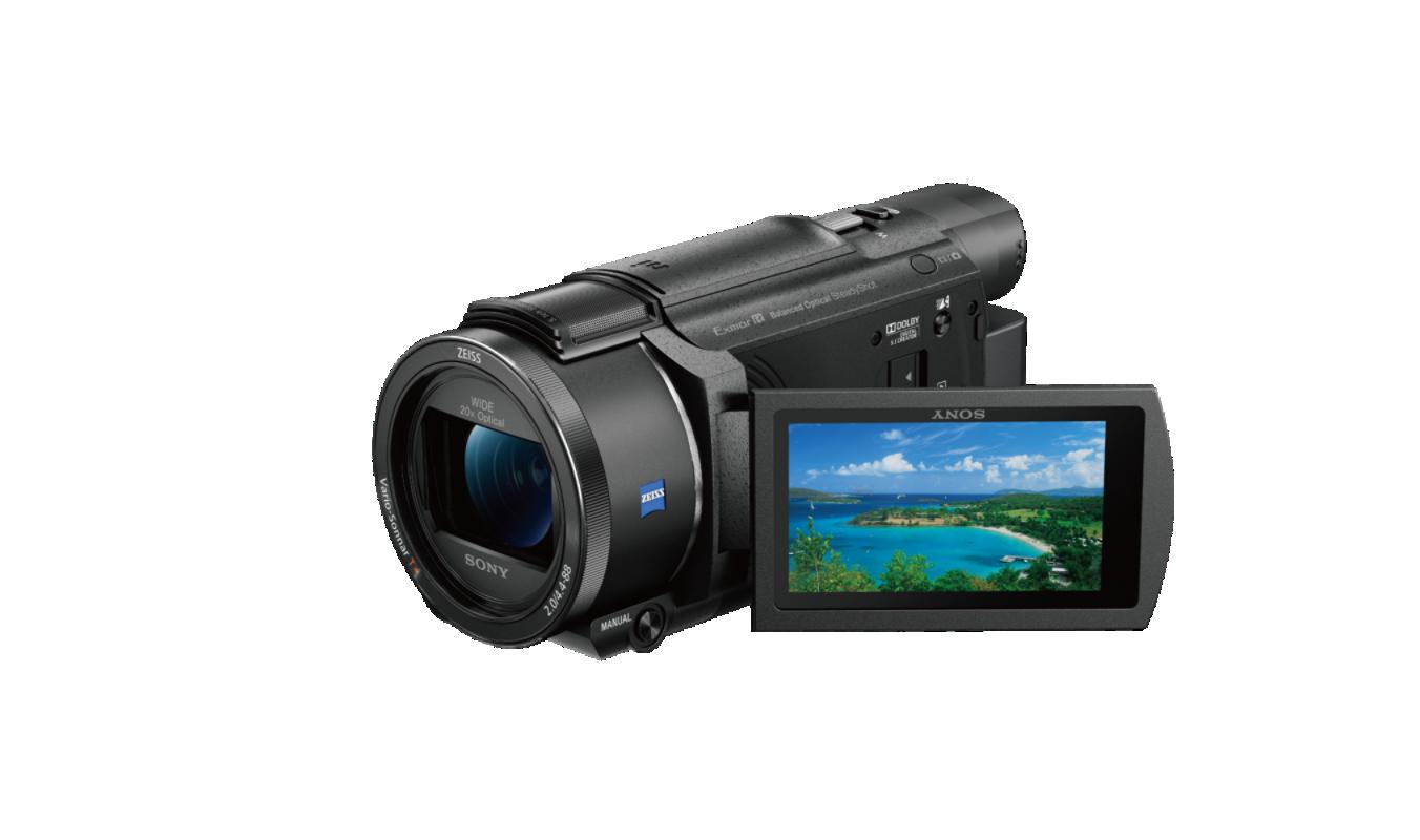 Fdrax53b Ceh Buy Ax53 4k Handycam With Exmor R Cmos Sensor View Price Camcorder Video Camera Sony Video Camera