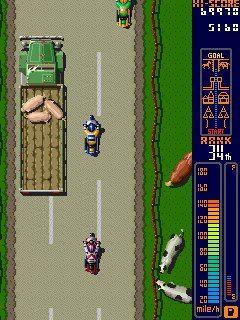 Rally Bike (NES), 1988