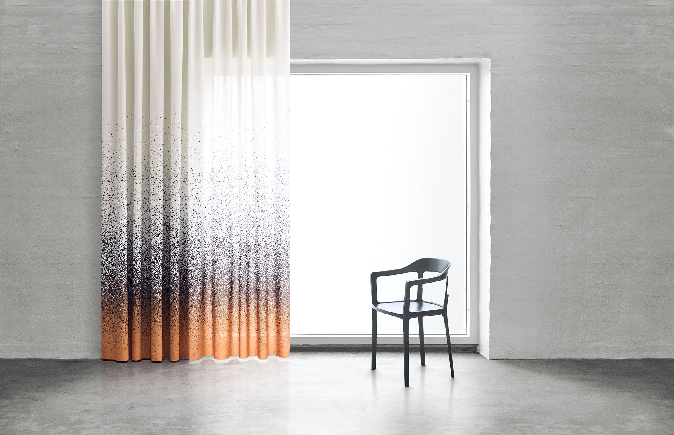 the beautiful sparkling curtain by aggebo henriksen. Black Bedroom Furniture Sets. Home Design Ideas