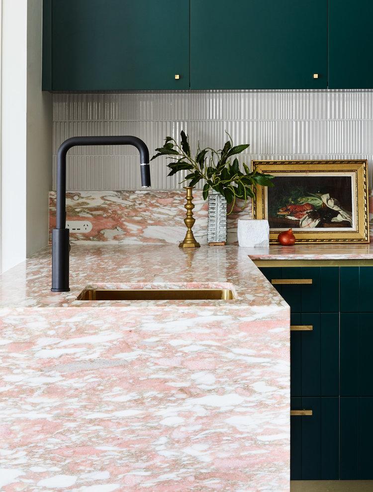 Pin By Stephanie Newton On Kitchen Interior Kitchen Mirror Splashback Tiles
