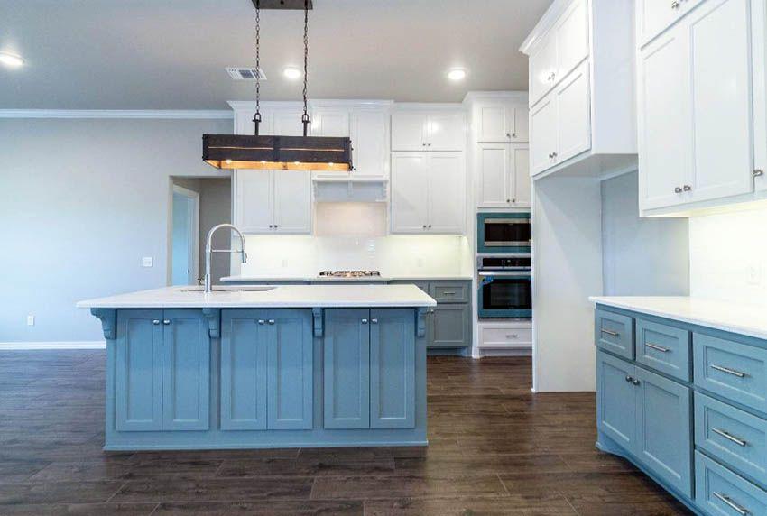 33 blue and white kitchens design ideas  white kitchen