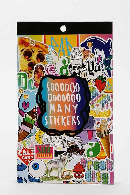 UO Sticker Book