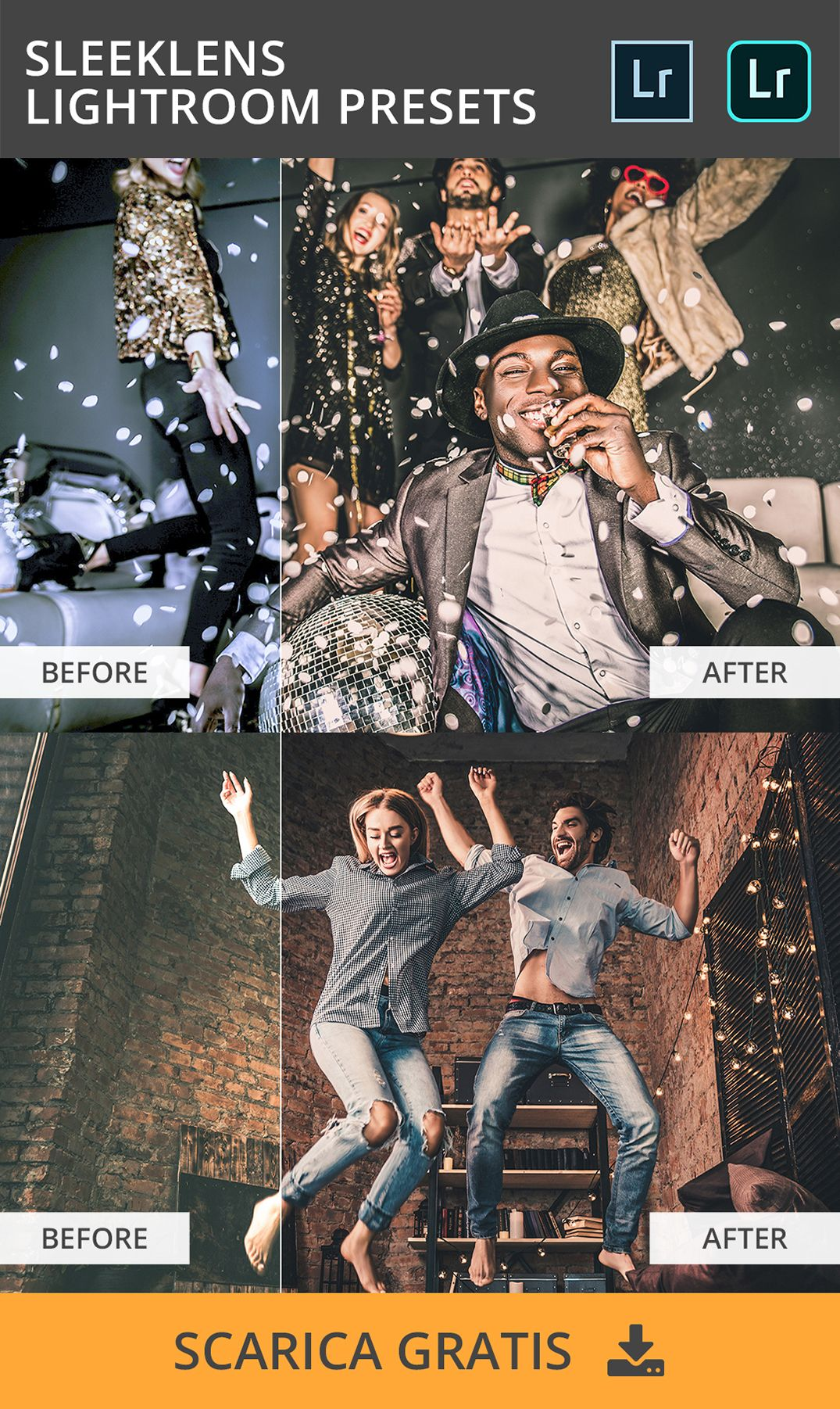 The complete sleeklens lr collection download