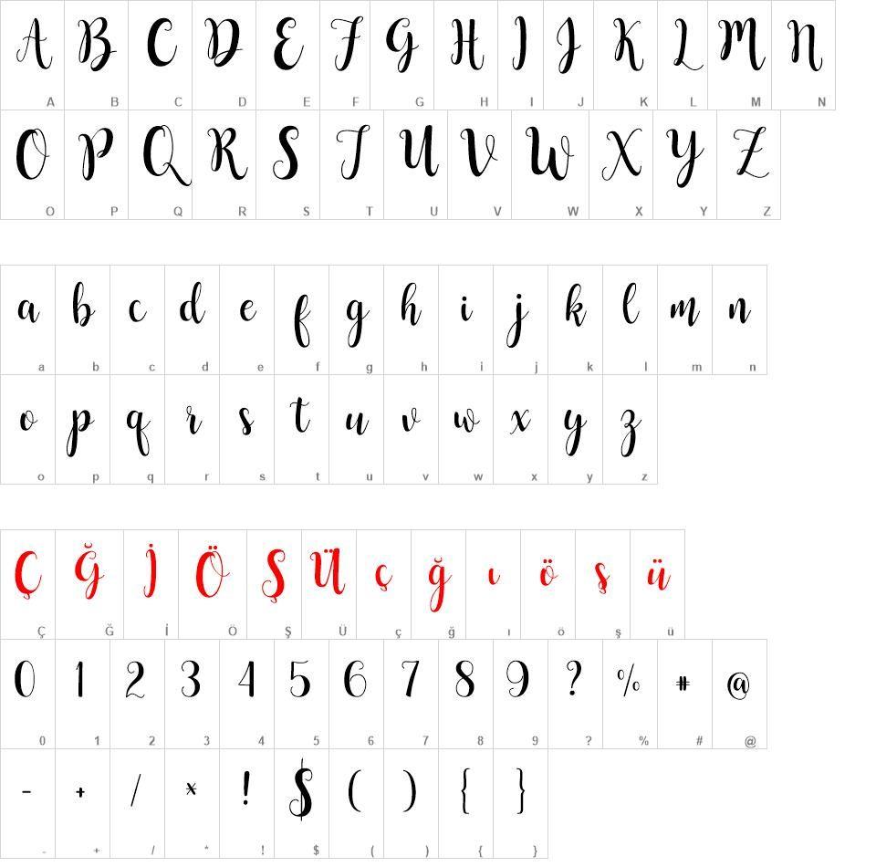 Buttercup Font Indir Buttercup Font Turkce Typography