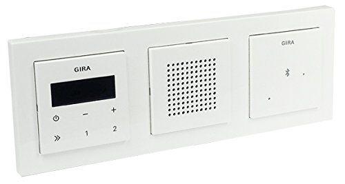 Gira Unterputz Radio Lautsprecher Rahmen E2 Reinweiss Glanzend Bluetooth Mit Bildern Lautsprecher Bluetooth Rahmen