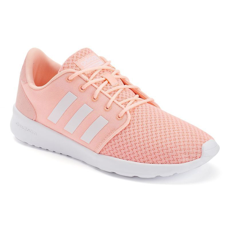 newest 3d07c 9bc0e Adidas NEO Cloudfoam QT Racer Womens Shoes, Size 6.5, Light Pink