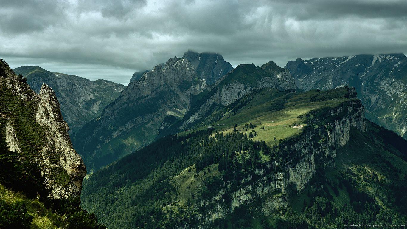 http://wallpaper.pickywallpapers.com/1366x768/green-mountains.jpg