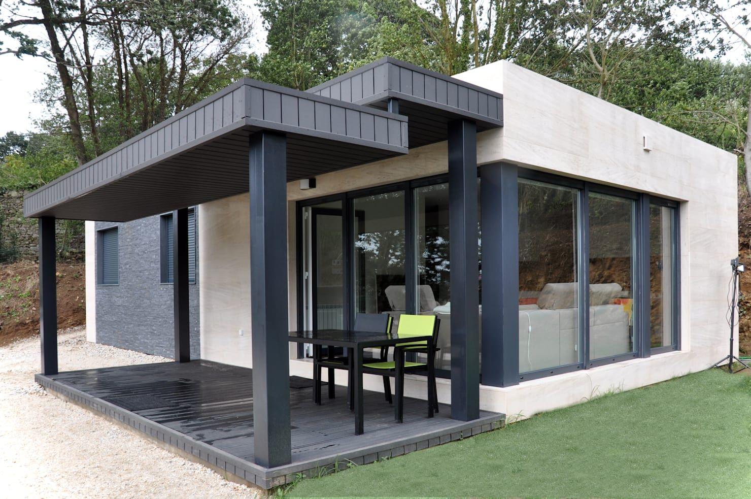 Modulares Haus mit 75 Quadratmetern unter 60000€ | Häuser ...