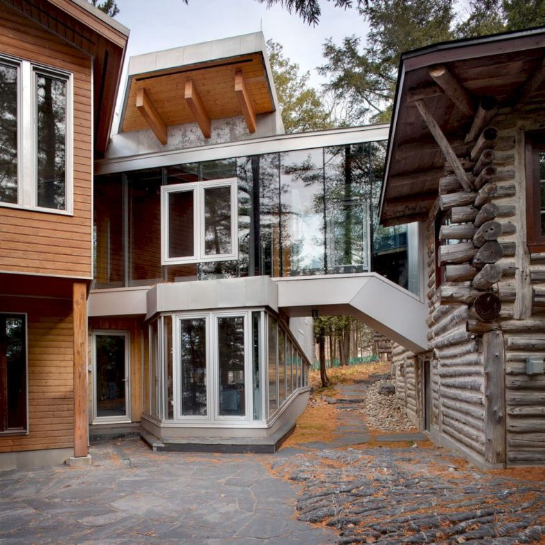 La Grande Ourse Residence Unique Property With Contemporary Interior And High Heritage Character Architecture House Architecture Today Modern House Plans