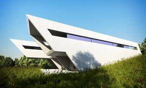Architektenhäuser & Einreichpläne /  Double Recess