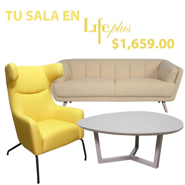 Tu sala en #LifePlus a $1,659.00 para tus espacios.  *Entrega gratuita en la Ciudad de Panamá *Aceptamos puntos y cuotas BAC.