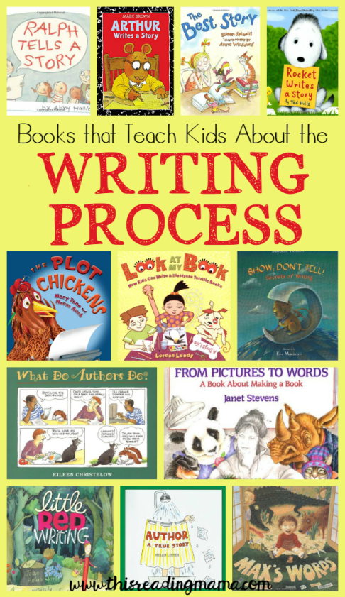 Books that Teach About the Writing Process | writing | Teaching