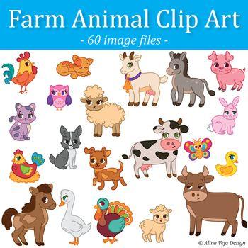 Farm Animals Clip Art Clip Art Farm Animals Animal Clipart