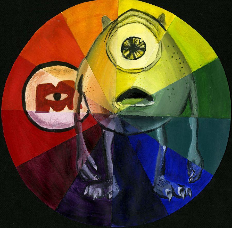 Cool Illustration Cliche Illustration Wazowski Wheel