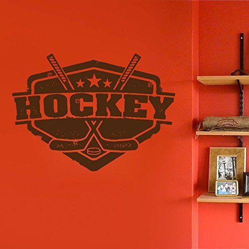 ik610 Wall Decal Sticker hockey stick puck emblem sport teen bedroom kids rink StickersForLife http://www.amazon.com/dp/B00U3XZDX8/ref=cm_sw_r_pi_dp_LIddvb1RB5K4D