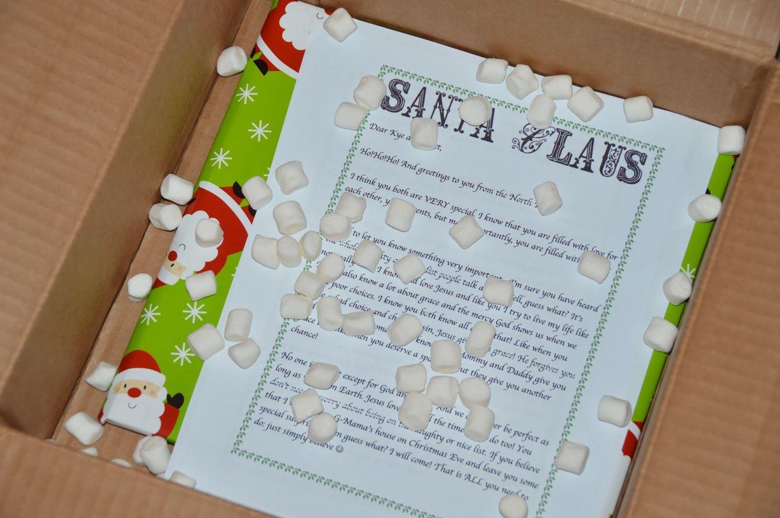 Elf on the Shelf arrival and letter from santa | Christmas | Pinterest