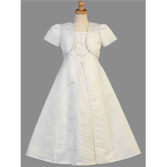 Robe de cérémonie ou première communion et