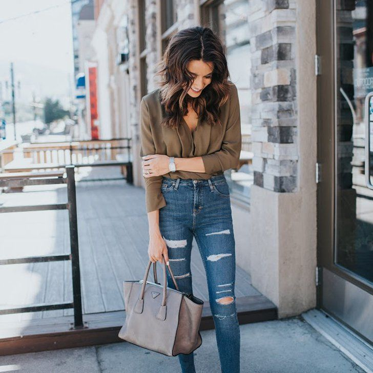 c1815489144 3 Chic Summer-Into-Fall Looks With Hello Fashion Ripped Jeans Outfit