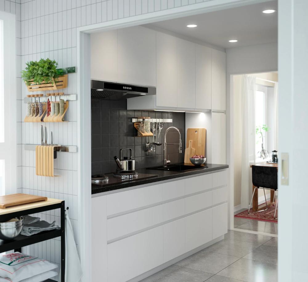 Seria Voxtorp Biala Kuchnia Home Decor Furniture Decor