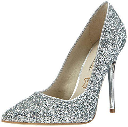 Womens 11335-269 Glitter Sl01 Closed Toe Heels Buffalo enq53M