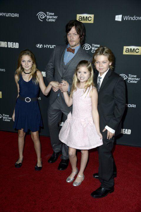 walking dead kids cast