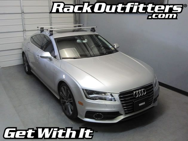 Rack Outfitters Audi A7 Sportback Thule Rapid Traverse Silver Aeroblade Roof Rack 12 14 454 85 Http Www Rackoutfi Audi A7 Sportback Audi A7 Roof Rack