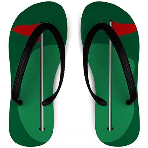 Golf Flip Flops Pin Flag