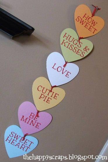 Valentine S Day Tinsel Wreaths Valentine Decorations Diy Valentines Decorations Diy Valentine S Day Decorations
