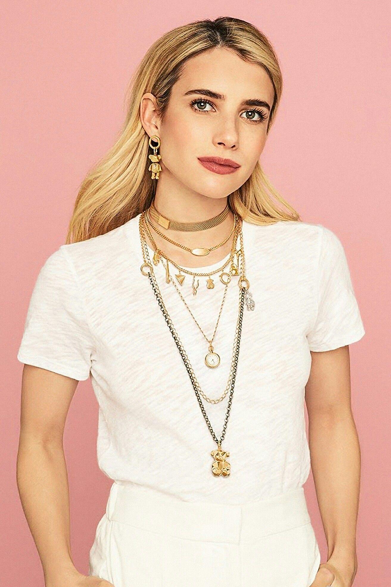 Photoshoot -  Emma Roberts for Tous  - #EmmaRoberts #FashionDesigners #photoshoot #ShilpaShetty #VictoriaBeckham
