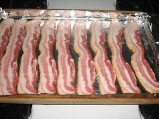 DONE--Great depending on the thickness of Bacon. Cooking bacon in the oven - you'll never do it on the stove top again! I'm totally trying this!